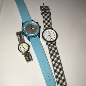 2 Womens TIMEX Watches and One Fashion